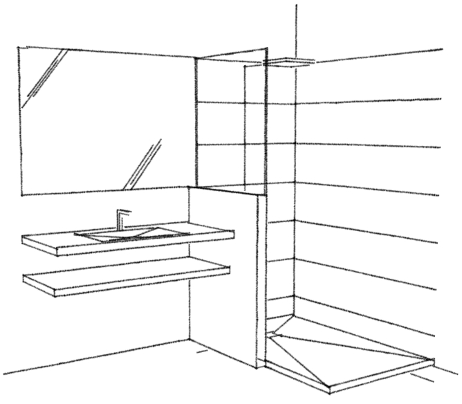 croquis salle de bain perspective salle de bain salle de bain couleur vert d eau croquis en. Black Bedroom Furniture Sets. Home Design Ideas